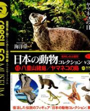 カプセルQミュージアム 日本の動物コレクション7 八重山諸島/ヤマネコの島 全7種/1回300円