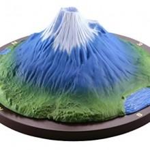 001_【モリナガ・ヨウの立体図鑑】 KD-001 富士山