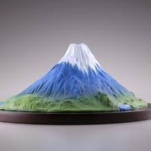 007_【モリナガ・ヨウの立体図鑑】 KD-001 富士山
