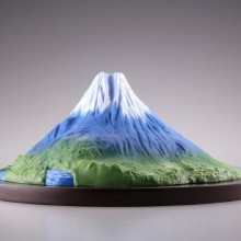009_【モリナガ・ヨウの立体図鑑】 KD-001 富士山