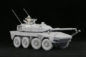 1/35 陸上自衛隊 機動戦闘車 (試作タイプ) レジンキャストキット.01