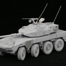1/35 陸上自衛隊 機動戦闘車 (試作タイプ) レジンキャストキット.02