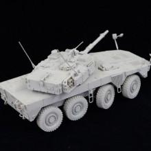 1/35 陸上自衛隊 機動戦闘車 (試作タイプ) レジンキャストキット.03