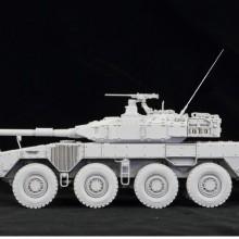 1/35 陸上自衛隊 機動戦闘車 (試作タイプ) レジンキャストキット.04