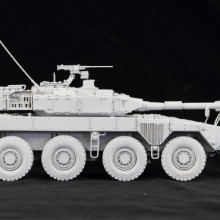 1/35 陸上自衛隊 機動戦闘車 (試作タイプ) レジンキャストキット.05