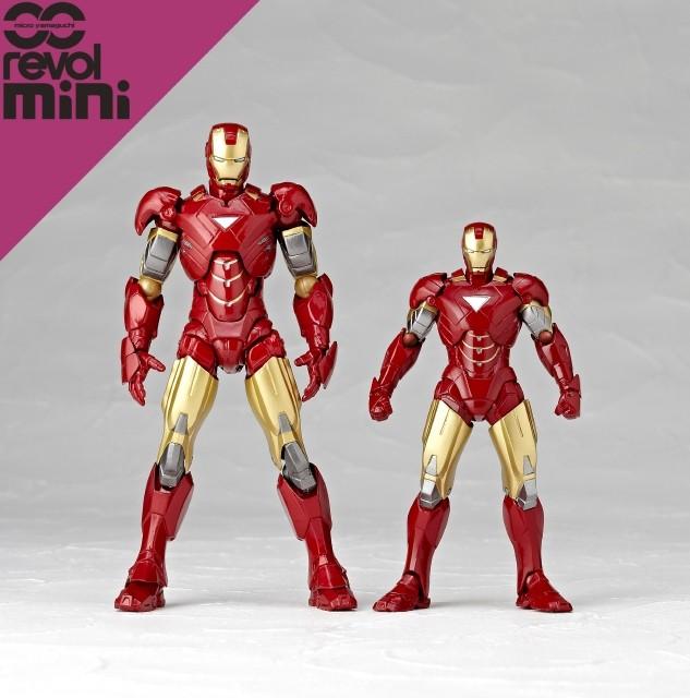 【マイクロヤマグチ/リボルミニ】 rm-003 アイアンマンマーク6