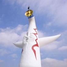 1/144スケール 太陽の塔 塗装済み完成モデル.07