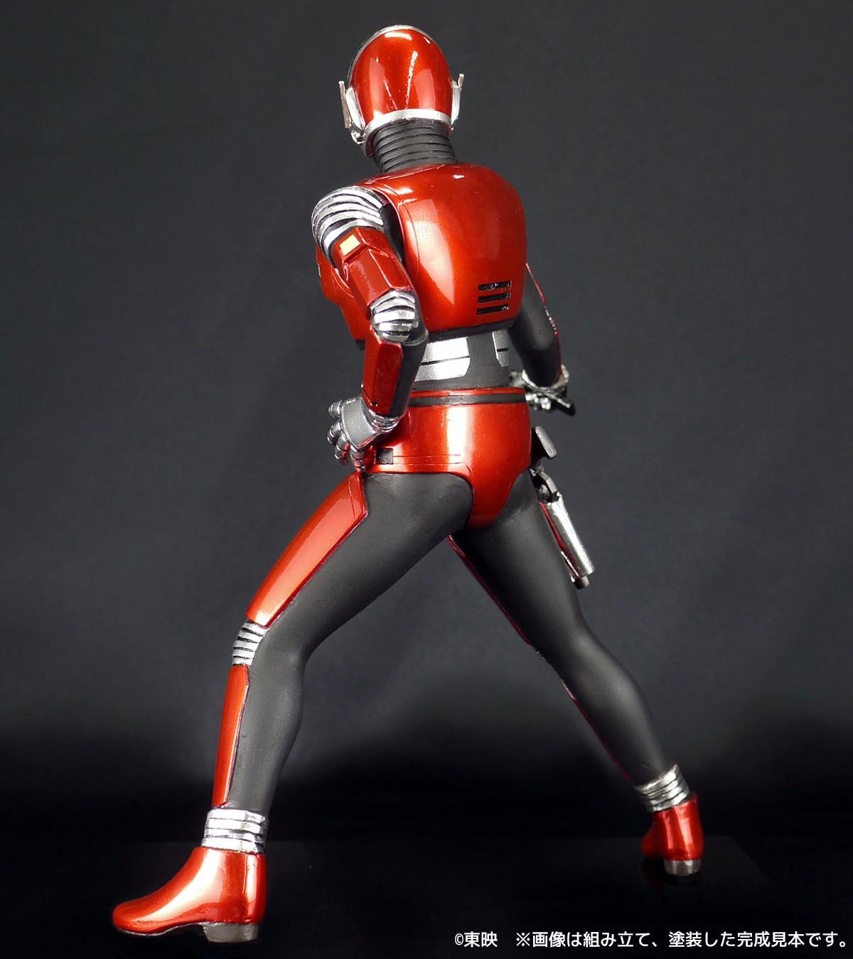 スーパーヒーローソフビキットコレクション 1 8スケール 宇宙刑事