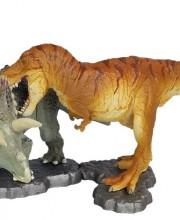 miniQ ミニチュア キューブ 白亜紀の対決!ティラノサウルスVSトリケラトプス 002