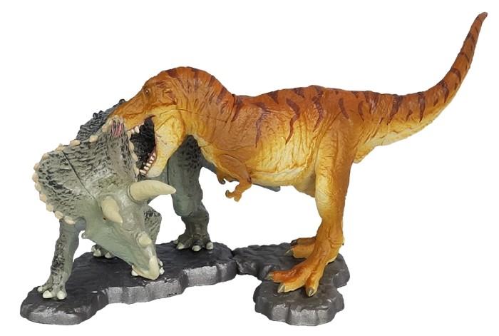 ティラノサウルスVSトリケラトプス