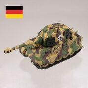 ティーガーII型重戦車【三色迷彩】