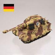 ティーガーII型重戦車【二色迷彩】