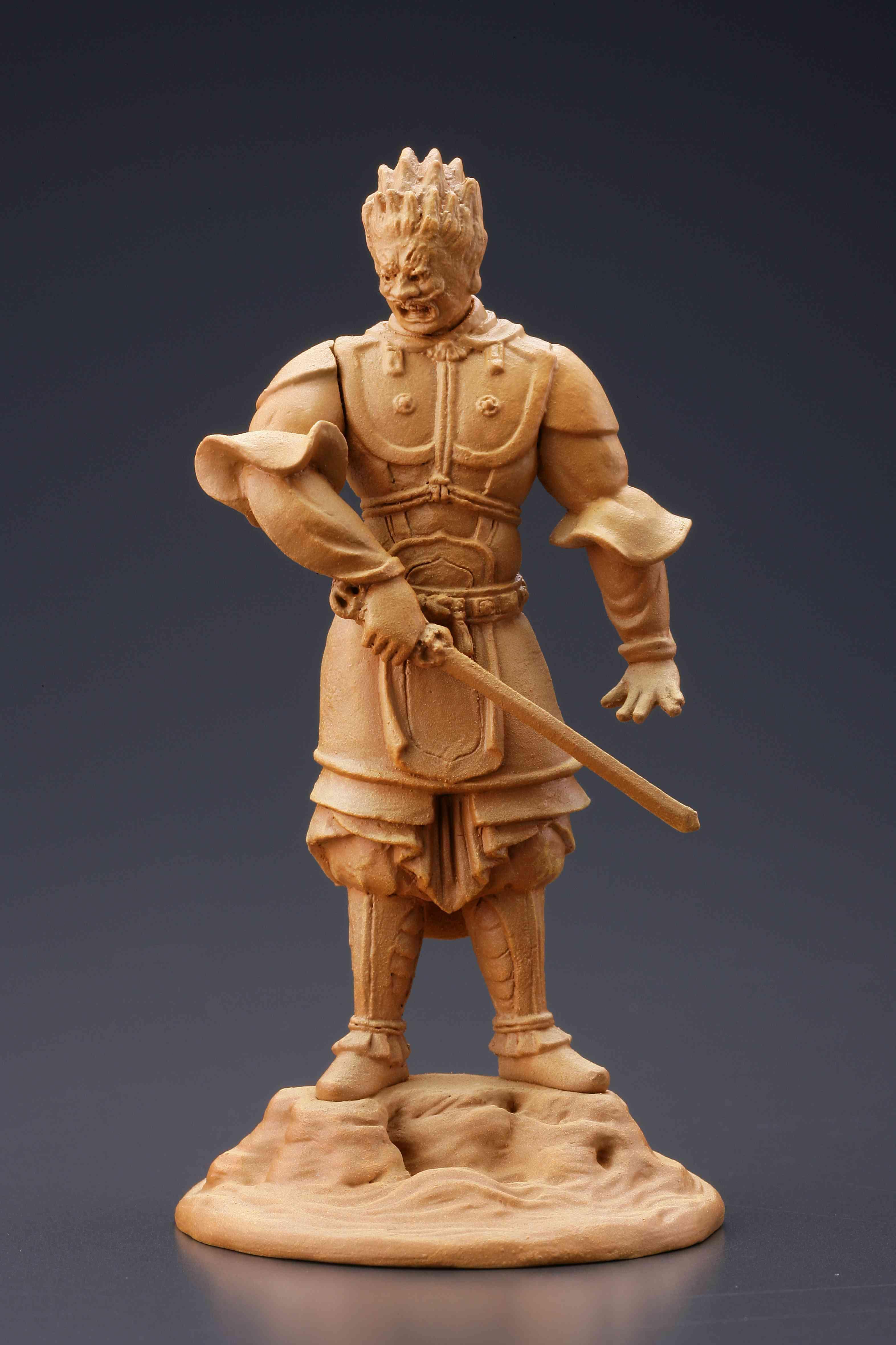 伐折羅大将(木彫)
