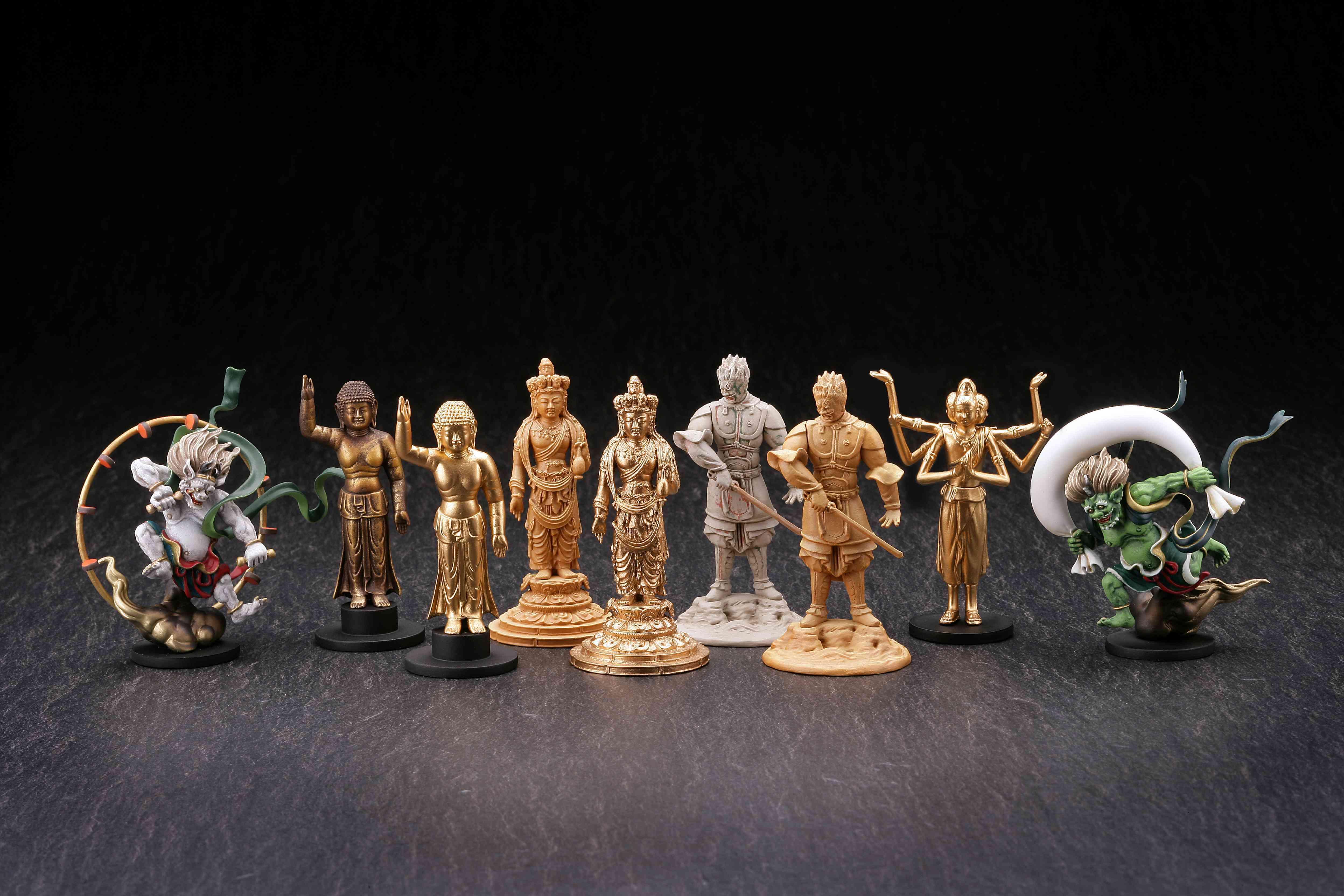 立体図録 仏像Ⅱ 全9種