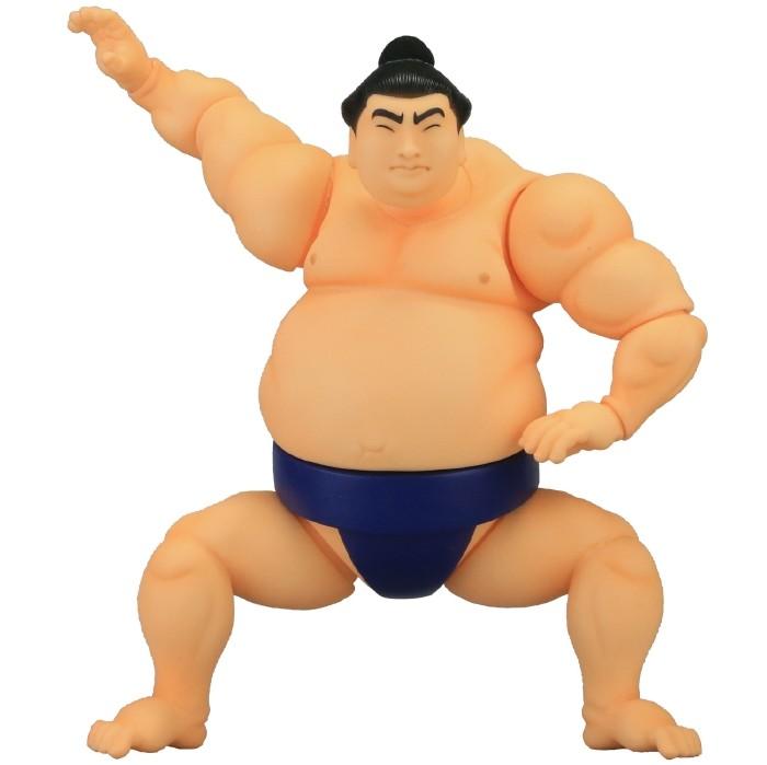 ソフビトイボックス 004 力士 Sumo wrestler