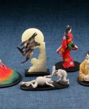 カプセルQミュージアム 日本切手立体図録 全5種/1回400円