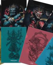 タケヤ式自在置物 特製イラストクリアファイル 全4種類