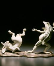 海洋堂 美術作品立体図鑑「鳥獣戯画」