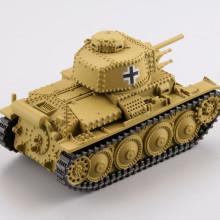 38(t)軽戦車/ダークイエロー