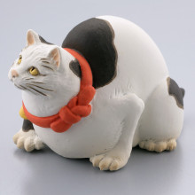 鼠よけの猫