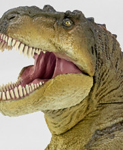 ソフビトイボックス 018B ティラノサウルス(スモークグリーン)