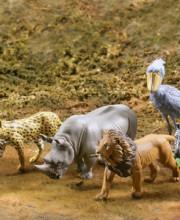 カプセルQミュージアム WILD RUSH 真・世界動物誌Ⅰ~アフリカサバンナ編~ 全5種/1回400円