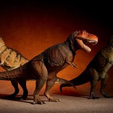 ソフビトイボックス ティラノサウルス