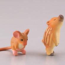 ネズミ&イノシシ