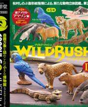 カプセルQミュージアム WILD RUSH 真・世界動物誌Ⅱ~南アメリカ・アマゾン編~ 全5種/1回400円