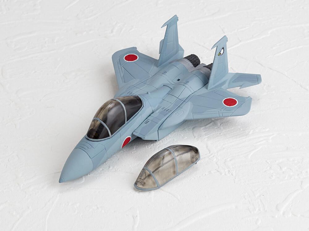 KAIYODO / 扭蛋 / CAPSULE ACE / DEFORMED AIRCRAFT / VOL.1 / 日本空軍自衛隊 / F-15J/DJ・F-4EJ改 / 全6種 / 大全
