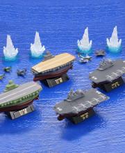 miniQ ワールドシップデフォルメ第3弾 「幻の空母・信濃と航空機搭載護衛艦編」 全6種/1個400円