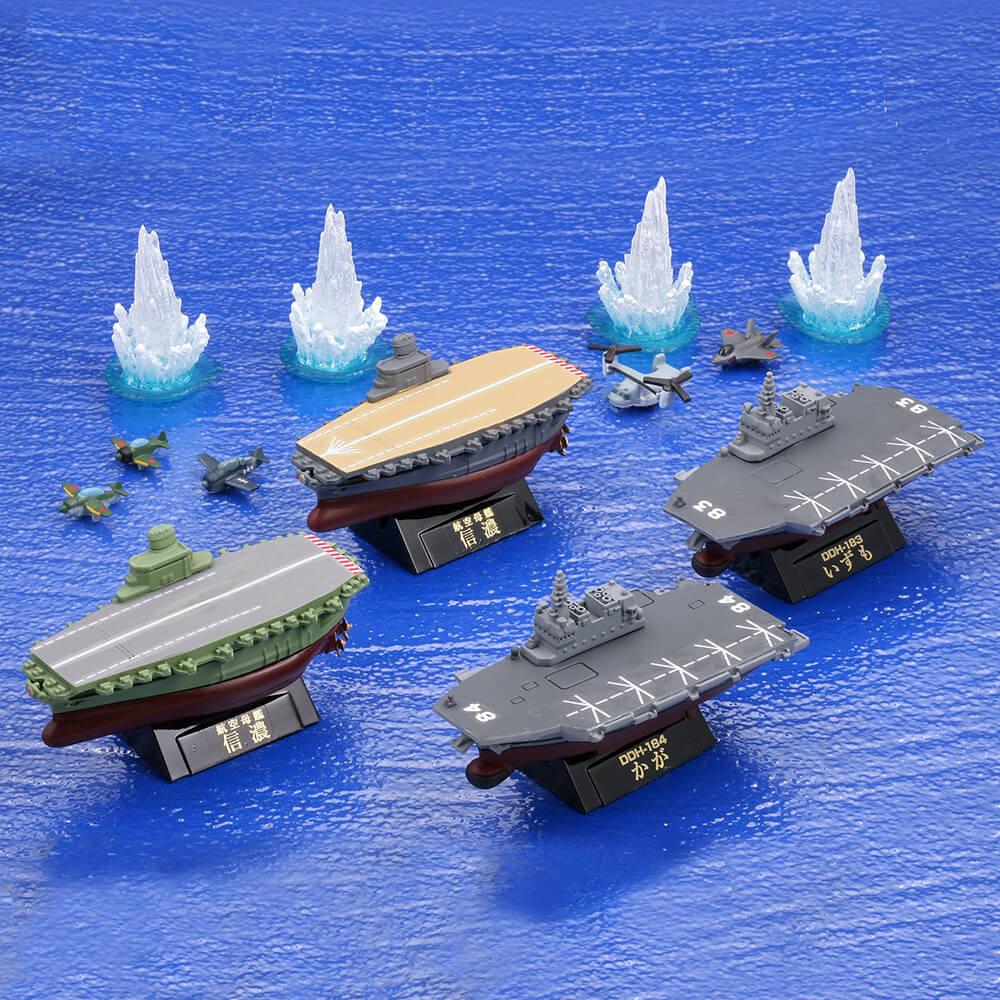 幻の空母・信濃と航空機搭載護衛艦編