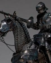 タケヤ式自在置物 KT-026 15世紀ゴチック式エクエストリアンアーマー ブロンズ