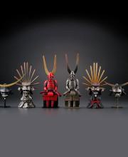 miniQ 戦国甲冑コレクション 全6種/1個500円