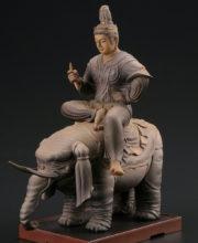 帝釈天騎象像フィギュア 特別展「国宝 東寺-空海と仏像曼荼羅」