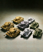 miniQ ワールドタンクデフォルメ 激闘 東部戦線編(ティーガーVS T-34) 全8種/1個400円