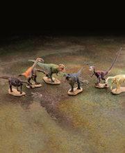 恐竜発掘記 恐竜造形大博覧会 全6種/1個400円