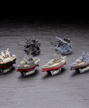 ワールドシップデフォルメ第4弾「連合艦隊旗艦-大和・三笠-編」 全6種/1個400円