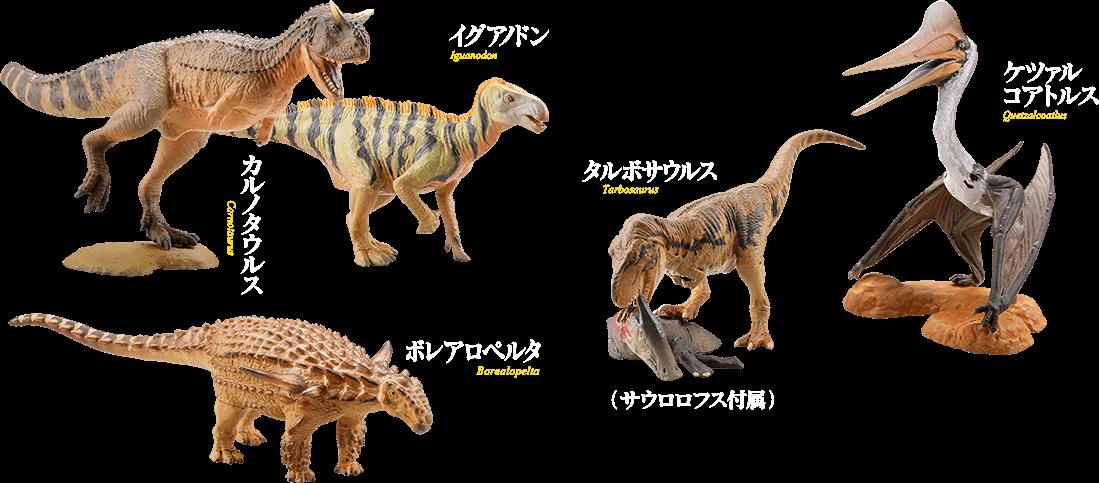 恐竜造形最前線 イメージ