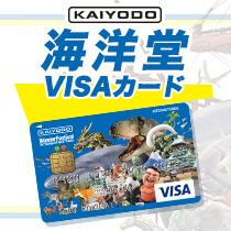 海洋堂×VISAカード